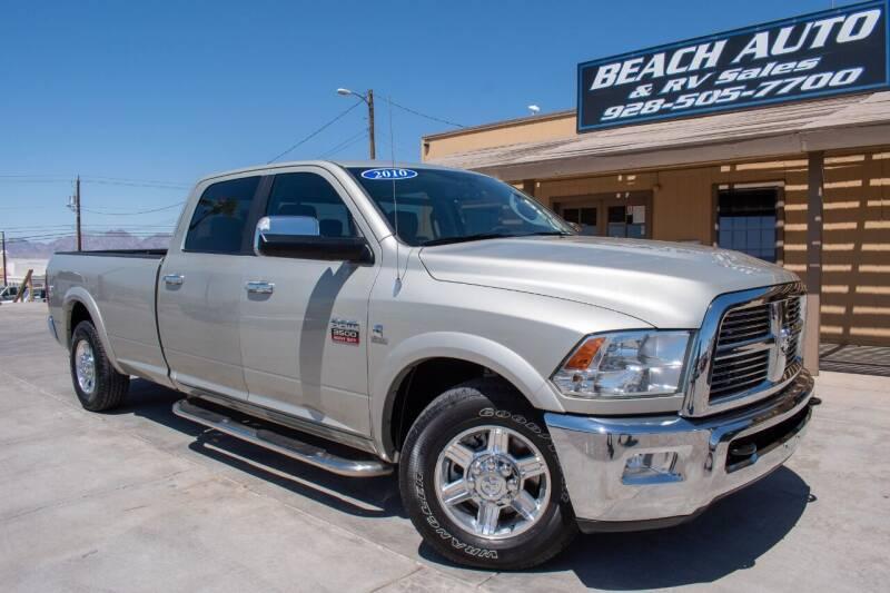 2010 Dodge Ram Pickup 3500 for sale at Beach Auto and RV Sales in Lake Havasu City AZ