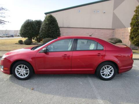 2012 Ford Fusion for sale at JON DELLINGER AUTOMOTIVE in Springdale AR