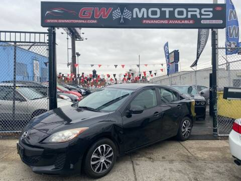 2013 Mazda MAZDA3 for sale at GW MOTORS in Newark NJ