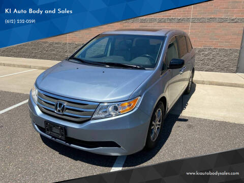 2012 Honda Odyssey for sale at KI Auto Body and Sales in Lino Lakes MN