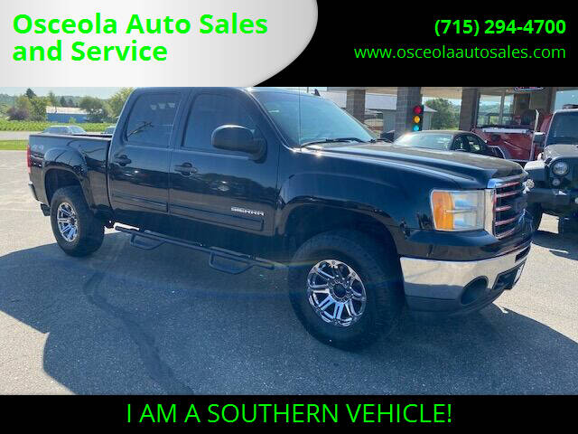 2013 GMC Sierra 1500 for sale at Osceola Auto Sales and Service in Osceola WI