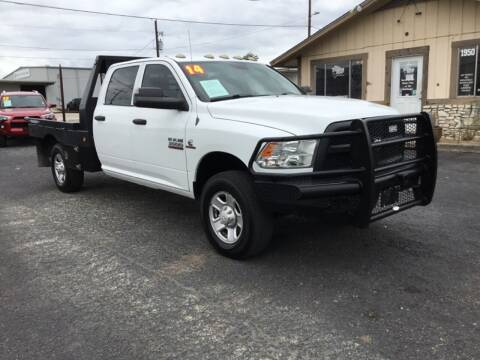 2014 RAM Ram Pickup 3500 for sale at The Trading Post in San Marcos TX