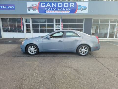 2008 Cadillac CTS for sale at CANDOR INC in Toms River NJ