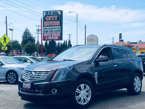 2015 Cadillac SRX for sale at City Motors in Hayward CA
