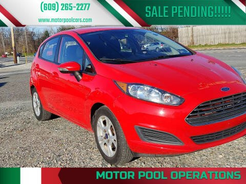 2014 Ford Fiesta for sale at Motor Pool Operations in Hainesport NJ