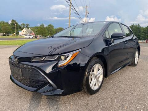 2019 Toyota Corolla Hatchback for sale at CVC AUTO SALES in Durham NC