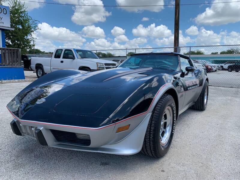 1978 Chevrolet Corvette for sale at Atrium Autoplex in San Antonio TX