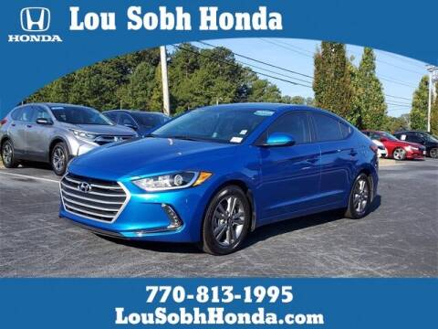 2017 Hyundai Elantra for sale at Lou Sobh Honda in Cumming GA