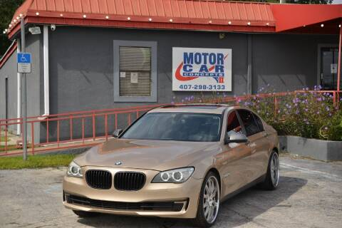 2013 BMW 7 Series for sale at Motor Car Concepts II - Kirkman Location in Orlando FL