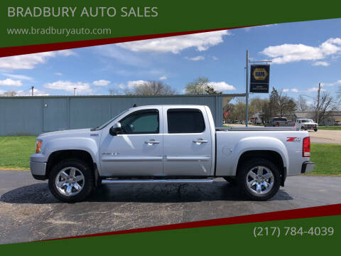 2013 GMC Sierra 1500 for sale at BRADBURY AUTO SALES in Gibson City IL