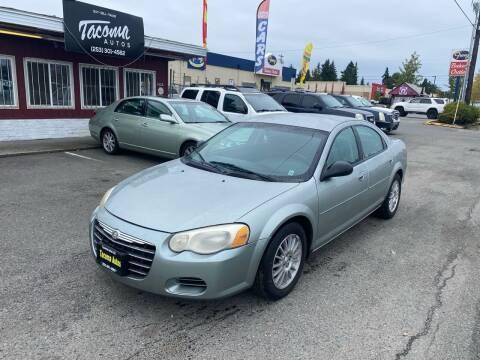 2005 Chrysler Sebring for sale at Tacoma Autos LLC in Tacoma WA
