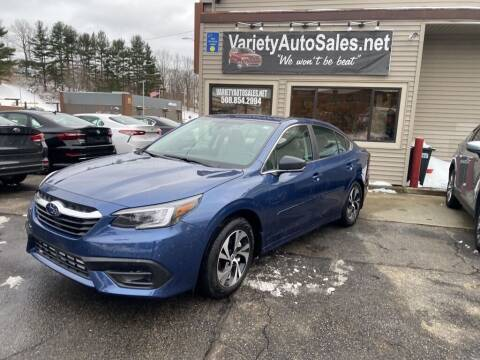 2020 Subaru Legacy for sale at Variety Auto Sales in Worcester MA