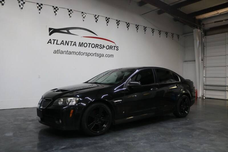 2009 Pontiac G8 for sale at Atlanta Motorsports in Roswell GA