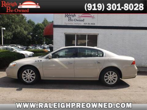 2011 Buick Lucerne for sale at Raleigh Pre-Owned in Raleigh NC
