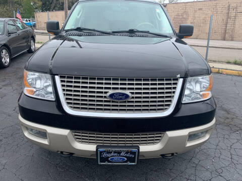 2005 Ford Expedition for sale at JORDAN AUTO SALES in Youngstown OH