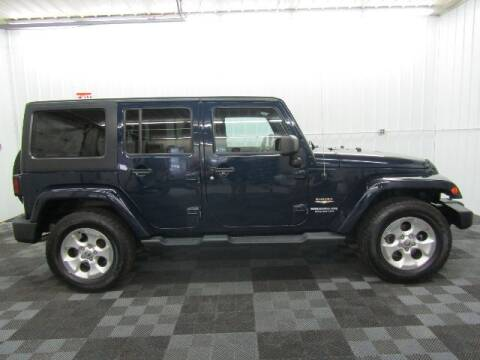 2013 Jeep Wrangler Unlimited for sale at Michigan Credit Kings in South Haven MI