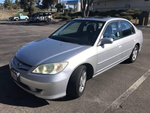 2004 Honda Civic for sale at Cars4U in Escondido CA