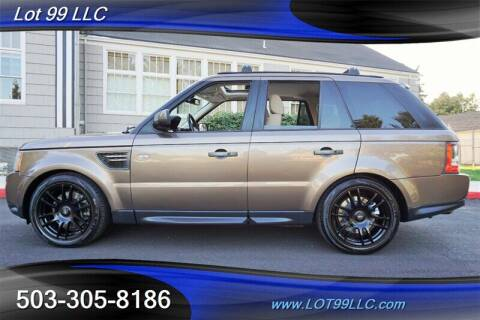 2010 Land Rover Range Rover Sport for sale at LOT 99 LLC in Milwaukie OR