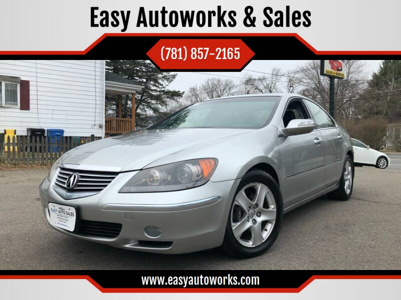 2007 Acura RL for sale at Easy Autoworks & Sales in Whitman MA
