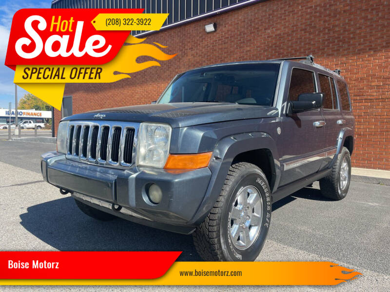 2007 Jeep Commander for sale at Boise Motorz in Boise ID