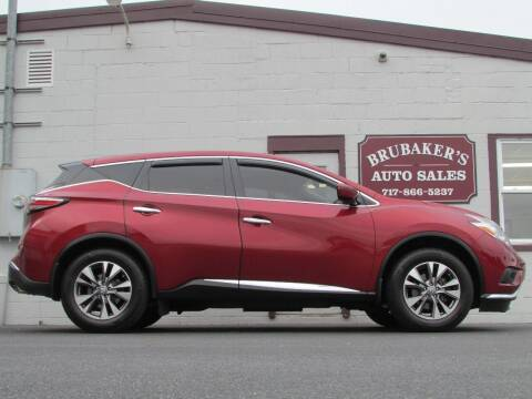 2016 Nissan Murano for sale at Brubakers Auto Sales in Myerstown PA