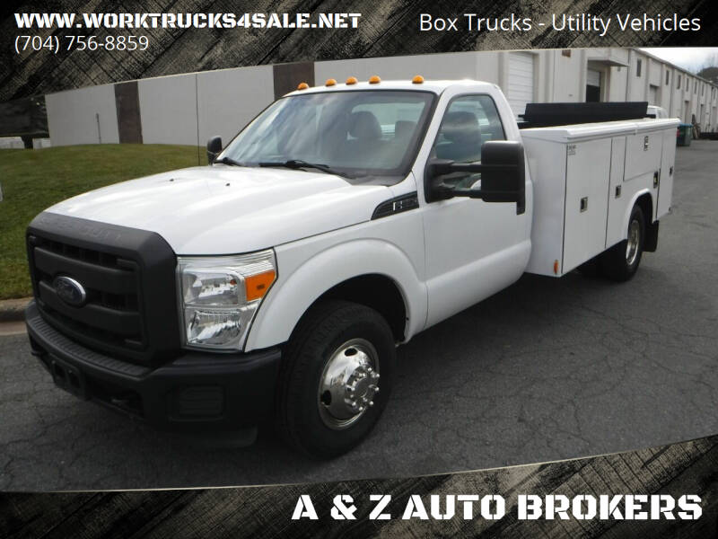 2014 Ford F-350 Super Duty for sale at A & Z AUTO BROKERS in Charlotte NC