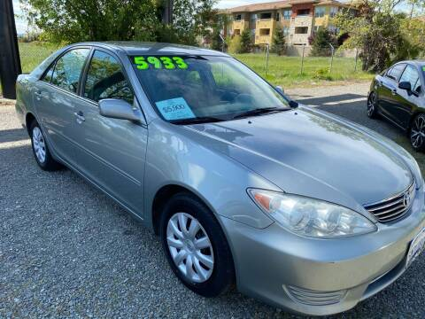 2005 Toyota Camry for sale at Quintero's Auto Sales in Vacaville CA
