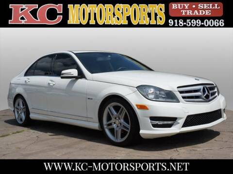2012 Mercedes-Benz C-Class for sale at KC MOTORSPORTS in Tulsa OK