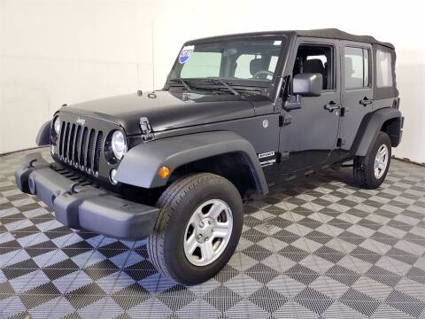 2018 Jeep Wrangler JK Unlimited for sale at PHIL SMITH AUTOMOTIVE GROUP - Joey Accardi Chrysler Dodge Jeep Ram in Pompano Beach FL