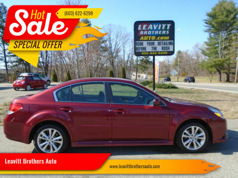 2013 Subaru Legacy for sale at Leavitt Brothers Auto in Hooksett NH