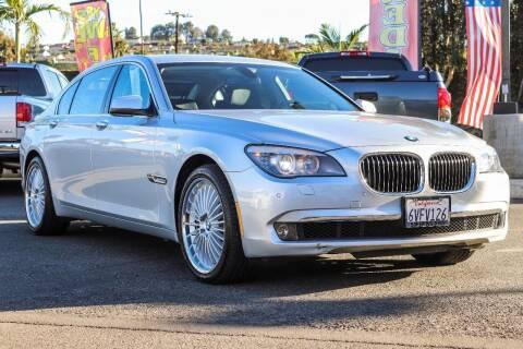 2012 BMW 7 Series for sale at Mac Auto Inc in La Habra CA