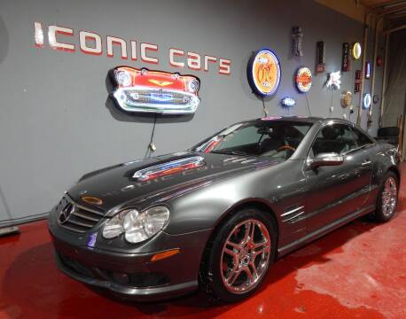 2006 Mercedes-Benz SL-Class for sale at Iconic Motors of Oklahoma City, LLC in Oklahoma City OK