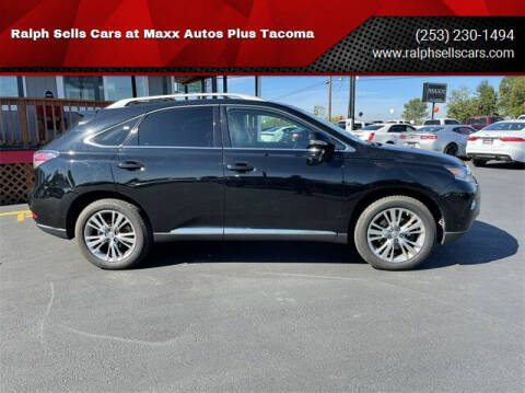 2013 Lexus RX 350 for sale at Ralph Sells Cars at Maxx Autos Plus Tacoma in Tacoma WA
