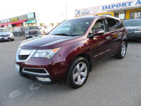 2011 Acura MDX for sale at Import Auto World in Hayward CA