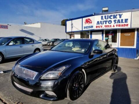 2008 Infiniti G37 for sale at Lucky Auto Sale in Hayward CA