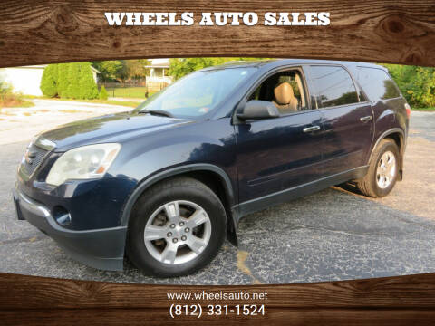 2011 GMC Acadia for sale at Wheels Auto Sales in Bloomington IN