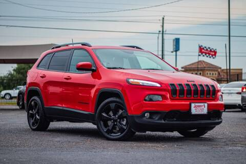 2018 Jeep Cherokee for sale at Jerrys Auto Sales in San Benito TX
