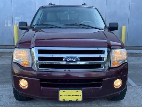 2012 Ford Expedition EL for sale at Delta Auto Alliance in Houston TX