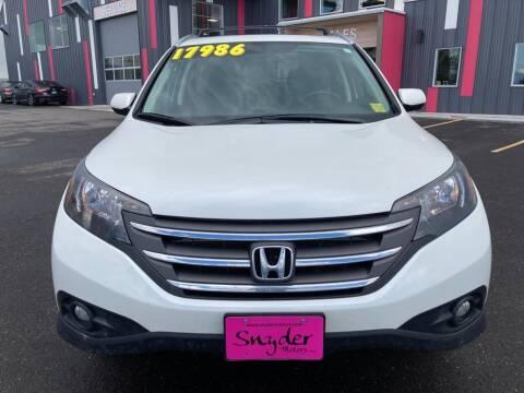 2014 Honda CR-V for sale at Snyder Motors Inc in Bozeman MT