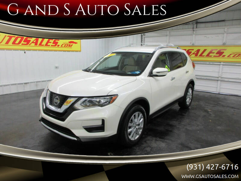 2017 Nissan Rogue for sale at G and S Auto Sales in Ardmore TN