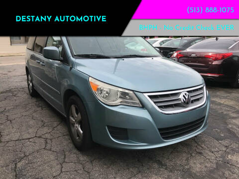 2010 Volkswagen Routan for sale at DestanY AUTOMOTIVE in Hamilton, Oh OH