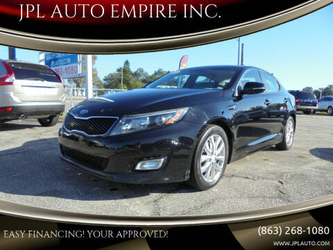 2015 Kia Optima for sale at JPL AUTO EMPIRE INC. in Auburndale FL