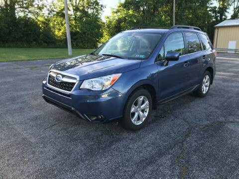 2014 Subaru Forester for sale at Jackie's Car Shop in Emigsville PA