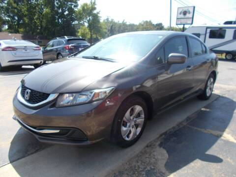 2014 Honda Civic for sale at High Country Motors in Mountain Home AR