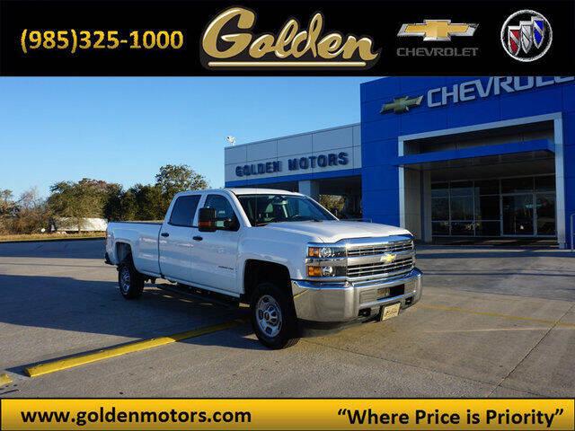 2018 Chevrolet Silverado 2500HD for sale at GOLDEN MOTORS in Cut Off LA