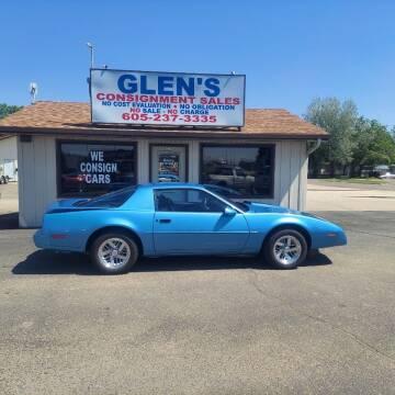 1991 Pontiac Firebird for sale at Glen's Auto Sales in Watertown SD