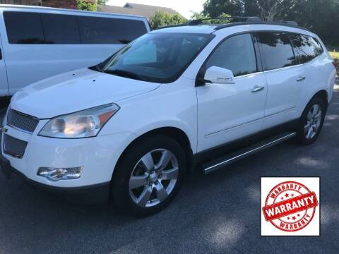 2010 Chevrolet Traverse for sale at Gulf Financial Solutions Inc DBA GFS Autos in Panama City Beach FL