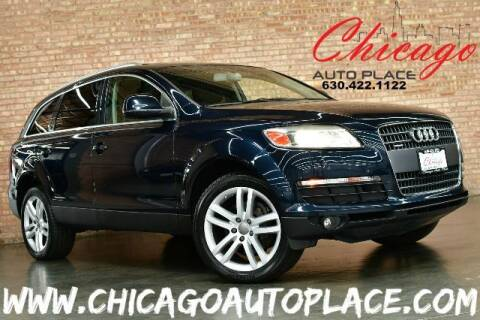 2007 Audi Q7 for sale at Chicago Auto Place in Bensenville IL