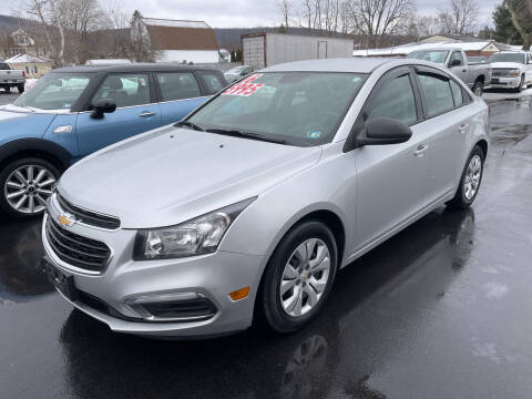 2016 Chevrolet Cruze Limited for sale at Chilson-Wilcox Inc Lawrenceville in Lawrenceville PA
