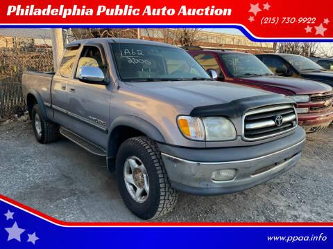 2000 Toyota Tundra for sale at Philadelphia Public Auto Auction in Philadelphia PA